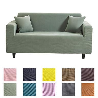 povoljno Tekstil za dom-kauč navlake za kauč zaštitni namještaj zaštitnik pune boje mekani rastezljiv kauč navlaka super super promjenjiv poklopac prikladan za fotelju / ljubavnu sjedalicu / trosjed na sjedalo / četverosjed