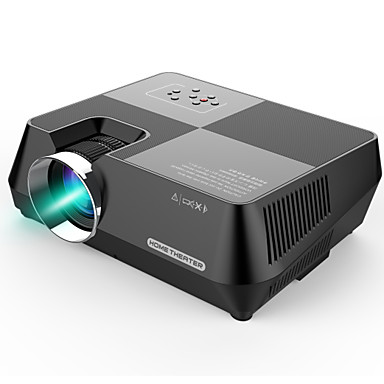 cheap Audio & Video-GT-S8 800 x 480 Portable Multimedia LCD Projector with HDMI USB VGA AV TF Interfaces Support 1080P for Home Cinema Theater Indoor Outdoor Movie Night Entertainment