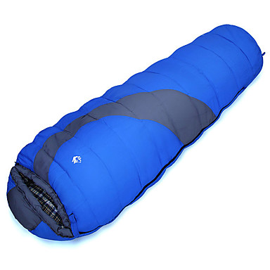 cheap Sleeping Bags & Camp Bedding-Sleeping Bag Outdoor Camping Tube Rectangle 5 °C Hollow Cotton Thermal / Warm Windproof Rain Waterproof Fast Dry All Seasons for Camping / Hiking / Caving Traveling Picnic