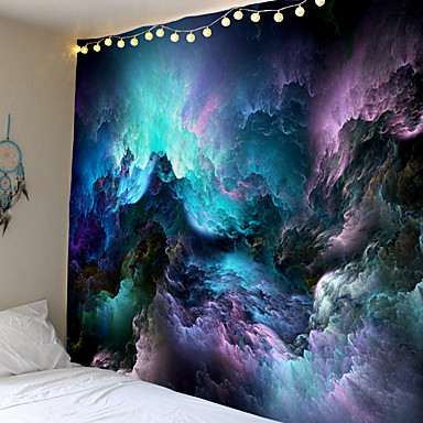 cheap Wall Art-Psychedelic Tapestry Wall Hanging Psychedelic Mushroom Decorative Wall Tapestries Art Wall Carpet Farmhouse Decor Carpet