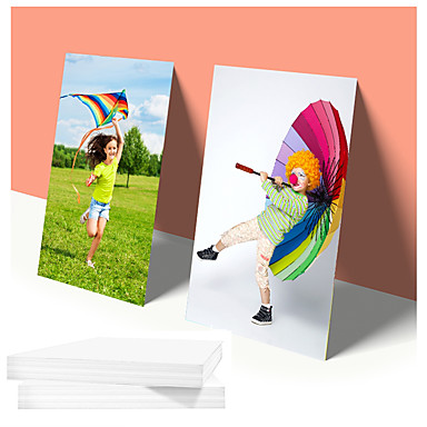 cheap 3D Printers & Supplies-20pcs/lot A4 photo paper waterproof glossy photographic papers for home inkjet photo printer