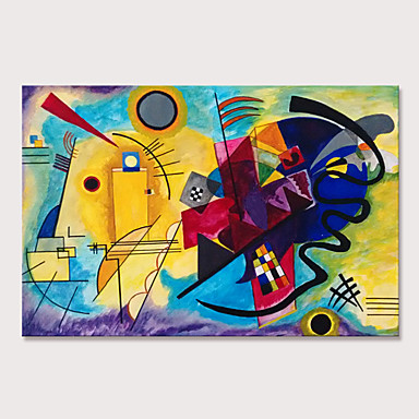 cheap Oversized Painting-Mintura Large Size Hand Painted Abstract Famous Oil Painting on Canvas Pop Art Wall Pictures For Home Decoration No Framed