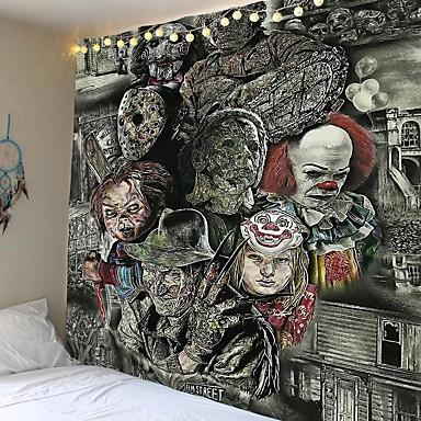 billige Wall Tapestries-skrekkfilm chucky hengende veggteppe dekor til hjemmet 150 * 130/230 * 180/150 * 150/200 * 150 cm strandhåndkle