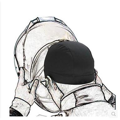 baratos Capacetes e Máscaras-capuz da motocicleta capuz da bicicleta absorvente de suor capacete absorvente de suor capacete forro sujo chapéu boné de equitação boné semi-circular