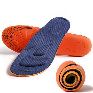 Memory Foam Shoe Inserts Running Insoles Sneaker Insoles Men's Women's Sports Insoles Foot Supports Shock Absorption Arch Support Breathable for Running Jogging Spring, Fall, Winter, Summer Dark Blue