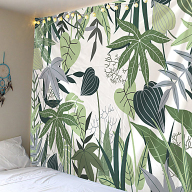 cheap Wall Art-Home Living Tapestry Wall Hanging Tapestries Wall Blanket Wall Art Wall Decor Tropical Leaf Tapestry Wall Decor
