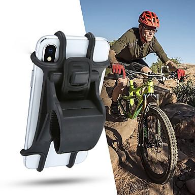 billige Motorsykkel & ATV tilbehør-støtte for silikon sykkeltelefonholder for 4 - 6 tommers smarttelefonholdere motorsykkel sykkelstyret klippestativ gps monteringsbrakett4.7