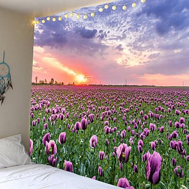 cheap Wall Art-Mooie Natuurlijke Bos Gedrukt Grote Wandtapijten Goedkope Hippie Muur Opknoping Bohemian Wandtapijten Mandala Muur Art Decor