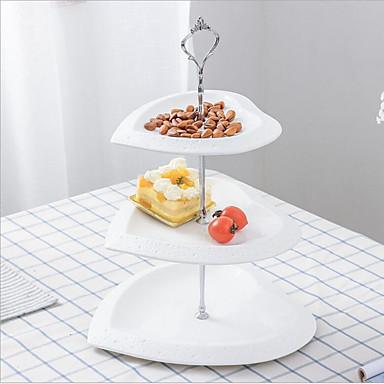 cheap Table Centerpieces-Artistic Pottery Table Center Pieces - Non-personalized Fruit Bowls Heart 1 pcs All Seasons