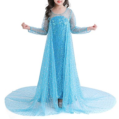 cheap Dancewear & Dance Shoes-Dance Costumes Dress Beading Girls' Performance Natural POLY