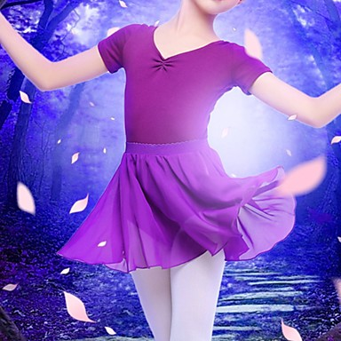 cheap Dancewear & Dance Shoes-Ballet Skirts Sash / Ribbon Girls' Training Performance High POLY