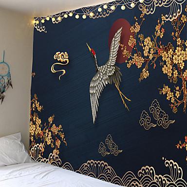 cheap Wall Decor-Tongdi Verdikte Boho Tapestry Olie Landschapsschilderkunst Afdrukken Muur Opknoping Mat Decoratie Voor Thuis Parlor Slaapkamer Woonkamer3 bestellingen