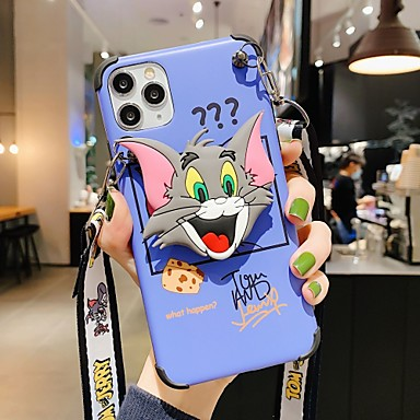 cheap iPhone Cases-Case For Apple iPhone 11 / iPhone 11 Pro / iPhone 11 Pro Max IMD / Pattern Back Cover Cartoon TPU