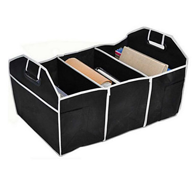 cheap Car Organizers-AuMoHall Car Multi-Pocket Organizer Large Capacity Folding Storage Bag Trunk Stowing and Tidying