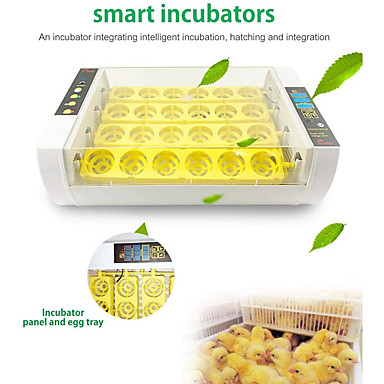 cheap Novelties-Egg Incubator2020 Upgraded Egg Incubator with Automatic Egg Turning and Temperature Control24 Eggs Digital Hatching Incubator with LED Display for Chicken Ducks Goose Birds Quail