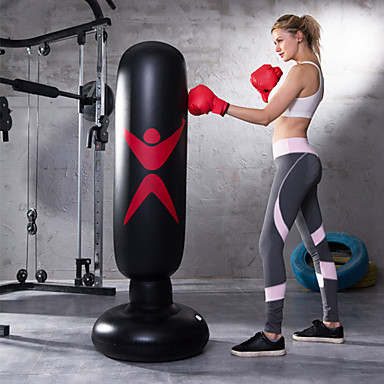 cheap Punching Bags & Boxing Pads-Punching Bag for Martial Arts Boxing Youth Strength Training Crossfit Weight Loss Black / Kid's