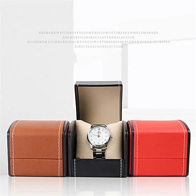 hesapli Erkek Saatleri-Saat Standı Saat Kutuları Deri 8 cm 9 cm