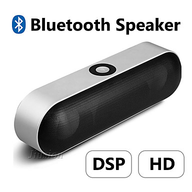 cheap Audio & Video-NBY-18 Mini Bluetooth Speaker Portable Wireless Speaker Sound System 3D Stereo Music Surround Support Bluetooth,TF AUX USB