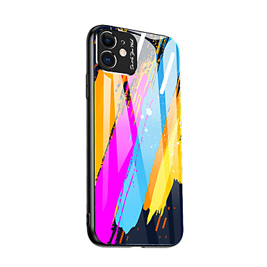 cheap iPhone Cases-Case For Apple iPhone 11 / iPhone 11 Pro / iPhone 11 Pro Max Pattern Back Cover Tile TPU