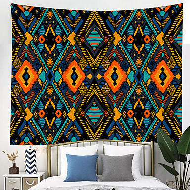 cheap Wall Tapestries-Classic Theme / Bohemian Theme Wall Decor 100% Polyester Mediterranean / Modern Wall Art, Wall Tapestries Decoration