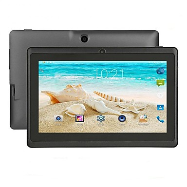 cheap Computers & Tablets-Q88 7 inch Android Tablet (Android 4.4 1024 x 600 Quad Core 512MB+8GB) / 32 / Mini USB / 3.5mm Earphone Jack