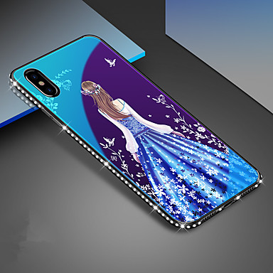 cheap iPhone Cases-Case For Apple iPhone 11 / iPhone 11 Pro / iPhone 11 Pro Max Plating Back Cover Tile TPU