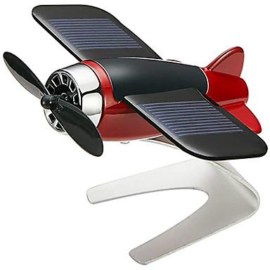 cheap Car Pendants & Ornaments-Fantastic Airplane Aircraft Model Solar Energy Fragrance Aircraft Model Car Home Decor Window Moving Aircraft Airplane Model