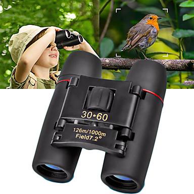 cheap Binoculars, Monoculars & Telescopes-30 X 60 mm Binoculars Waterproof High Definition Generic Roof Prism 1000/6000 m Fully Multi-coated BAK4 Plastic Rubber Metal / Hunting / Bird watching / Night Vision
