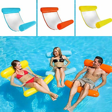 cheap Inflatable Ride-ons & Pool Floats-Inflatable Pool Float Inflatable Pool Water Hammock Drifter Pool Hammock Outdoor Portable PVC(PolyVinyl Chloride) Summer Pool Unisex Adults'