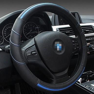 povoljno Dodaci za unutrašnjost auta-Volan na kotačima od 38 cm pokriva univerzalnu kožnu presvlaku za automobile od četiri sezone