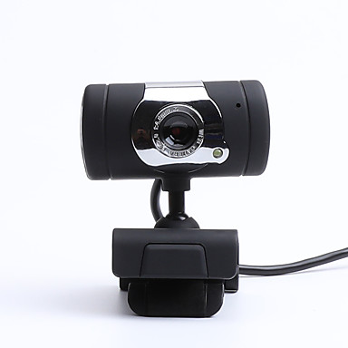 cheap Office Electronics-LITBest CZ0006 USB 2.0 Business Conference Webcam HD 480P Flash LED Built In Microphone Drives Free