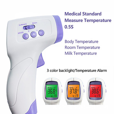 cheap Thermometers-YNA-800 Non-contact Body Thermometer Forehead Digital Infrared Thermometer Portable Digital Measure Tool FDA &amp CE Certificated for Baby Adult