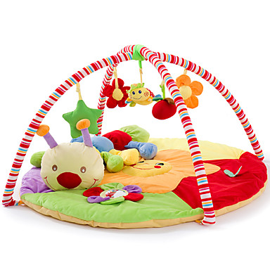 cheap Baby Toys-Kids' Soft Crawling Play Mat Cute Cow Carpet