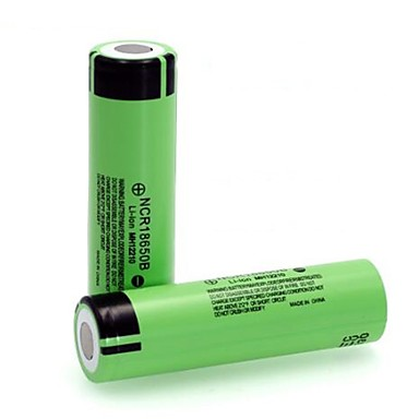 cheap Camera & Photo-100% New Original NCR18650B 3.7 v 3400mah 18650 Lithium Rechargeable Battery For Flashlight Batteries