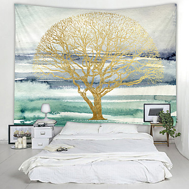 cheap Wall Tapestries-Wall Tapestry Art Decor Blanket Curtain Picnic Tablecloth Hanging Home Bedroom Living Room Dorm Decoration Fantasy Abstract Tree Hanging