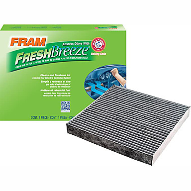 cheap Car Filters-FRAM CF10134 Fresh Breeze Cabin air filter with arm and hammer