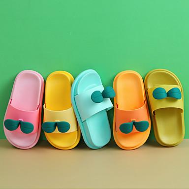 cheap Kids' Slippers-Boys' / Girls' Comfort PVC Slippers & Flip-Flops Toddler(9m-4ys) / Little Kids(4-7ys) Yellow / Pink / Orange Spring / Summer / 3D
