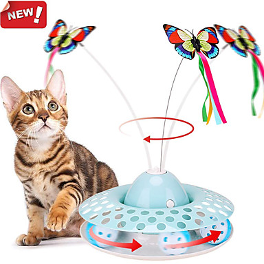 cheap Cat Clothing & Accessories-Teaser Interactive Toy Cat Pet Toy Focus Toy Aluminum Plastic Gift