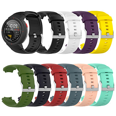 cheap Weekly Deals-Watch Band for Amazfit Verge A1801 Amazfit Sport Band Silicone Wrist Strap
