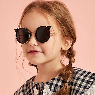 cheap Kids' Glasses-Infant Unisex Color Block Glasses Fuchsia / Gold / Silver