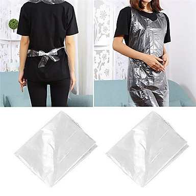 cheap Kitchen & Dining-Box of 100 pcs Waterproof Plastic Disposable Aprons