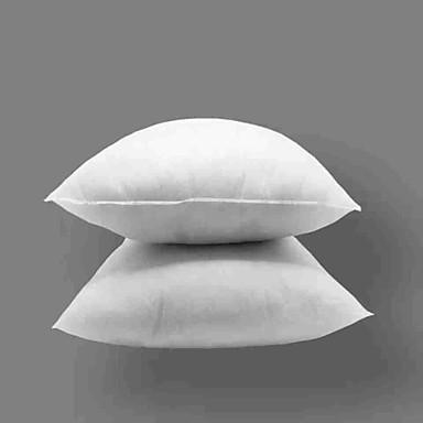 povoljno Svijet dekora-2pcs umetak za jastuk komprimirano pakiranje čisto pamučno bijelo 50x50cm pogodno za jastučnicu veličine 45x45cm