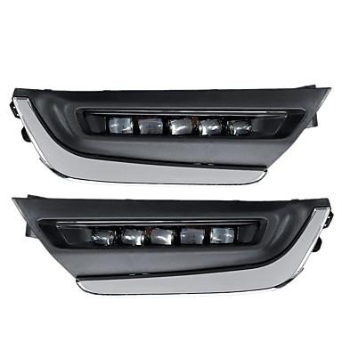 cheap Daytime Running Lights-LED DRL Daytime Running Lights White Pair For Honda CR-V CRV 2017 2018