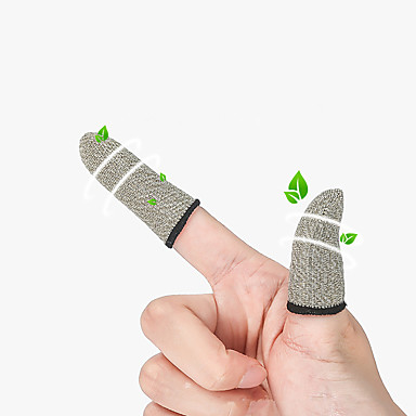cheap Smartphone Game Accessories-A pair of game hand sweat artefact and mobile game finger sleeve