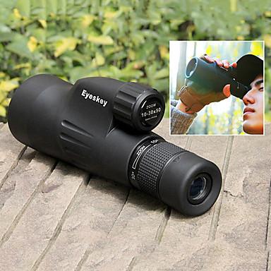 cheap Binoculars, Monoculars & Telescopes-Eyeskey 10 X 50 mm Monocular Porro Waterproof Night Vision in Low Light Portable Full HD 42/1000-33/1000 m FMC Multi-coated BAK4 Camping / Hiking Hunting Traveling / Bird watching