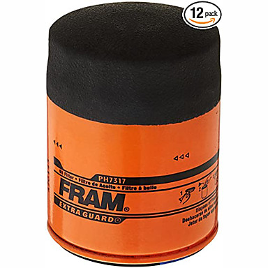 cheap Car Filters-Fram ph7317 EXTRA Guard passenger car spin-on oil filter 12 pieces
