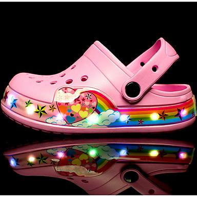 cheap Kids' Sandals-Girls' Comfort PVC Sandals Little Kids(4-7ys) Black / Pink / Blue Summer