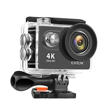 billige Bil-DVR-Eken EKEN H9R for car 480p / 720p / 1080p Trådløs / Full HD Bil DVR 170 grader Bred vinkel CMOS 2 tommers LCD Dash Cam med WIFI / Night Vision / Loop-opptak Bilopptaker / 2.0 / Innebygd Høytaler
