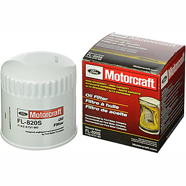 cheap Car Filters-Motorcraft FL-820-S oil filter single-sided 1 Pack