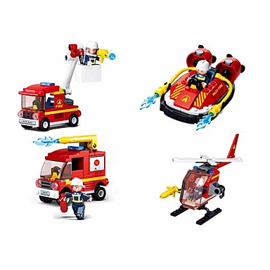 cheap Building Blocks-Building Blocks Educational Toy Construction Set Toys 323 pcs Vehicles Cartoon Airplane compatible Plastic Shell Legoing Exquisite Hand-made Decompression Toys DIY Boys and Girls Toy Gift / Kid's